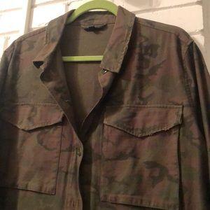 Topshop Jackets & Coats - Army jacket